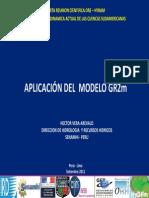 Aplicacion Modelo GR2m