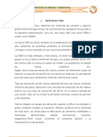 TIPOS DE HARINA - UNCP