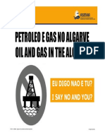 SAY NO TO OIL IN ALGARVE PRESENTATION