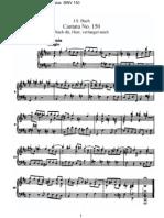 J. S. Bach - BWV 0150 (Piano)