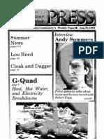 The Stony Brook Press - Volume 6, Issue 1