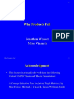 Weaver Why Products Fail 20080721
