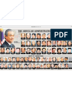 The Abdullah Administration 2008 - NST