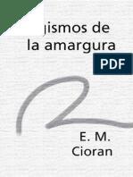 Cioran, E. M. - Silogismos de La Amargura(1)