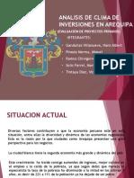 Analisis de Clima de Inversiones Arequipa