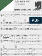 Queen Partituras Para Piano e Voz PDF