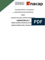 Informe Mallas, Nodos, Thevenin
