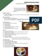 Comidas Tipicas de Zacapa y Guatemala