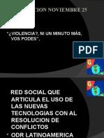 """FECOBA """" DIA INTERNACIONAL DE VIOLENCIA CONTRA LA MUJER""""  ALBERTO ELISAVETSKY"""