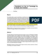 2000_DIAS, DS_Motivação e Resistencia Ao Uso Das TIC's