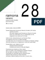 Revista Ramona 28