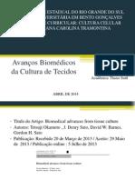 Cultura Celular - Avanços Da Biomedicina