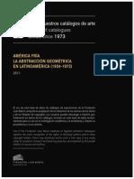 América Fría - La Abstracción Geométrica en Latinoamerica 1934-1973