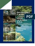 Catálogo Excursiones Finca Chaculá 2014