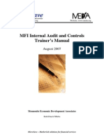 Internal Audit and Control Overview