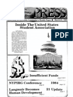 The Stony Brook Press - Volume 6, Issue 20