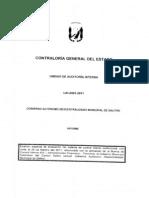 Examen Especial Norma de Control Interno 403
