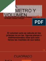 Área, Perímetro y Volumen