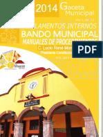 Bando, Reglamentos y Manuales 2013-2015