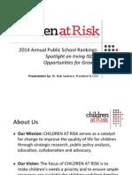 Children at Risk's presentation on Irving ISD