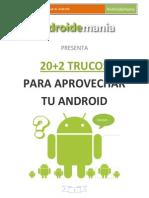 20+2 Trucos para aprovechar tu Android - Androidemania