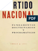 Partido Nacional Fundamentos Doctrinarios y Programáticos