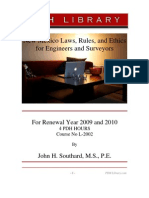 L-2002 New Mexico Laws, Rules & Ethics for Engineers and Surveyors