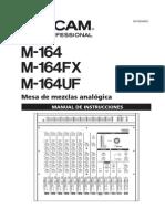 Tascam M164UF