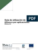 Guía de Utilización de Alfresco Por Aplicaciones