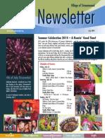 Streamwood Newsletter, July 2014