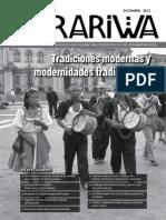 Revista ARARIWA Año 7 Numero 11 Diciembre 2012 Dirección de Investigacion ENSFJMA
