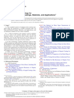 D16 Terminology for Paint, Related Coatings, Materials, And Applications