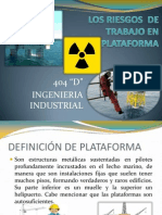 Los Riesgos en Plataformaaaaaa