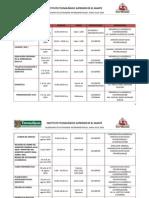 Actividades Intersemestrales Junio-julio 2014