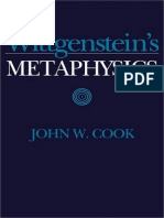 Cook, John W. - Wittgenstein's Metaphysics