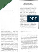 Redacción de Un Artículo Científico (1)