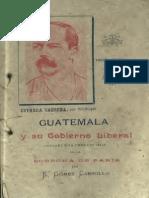 Carrillo. Guatemala y Su Gobierno Liberal