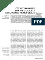 Espaces Migratoire Afrique Ouest