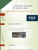 Ppt de Lanorma Técnica Peruana Ntp 334