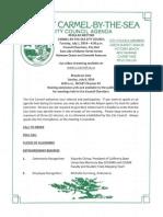 City Council Agenda 07-01-14