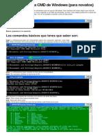 Aprende a Usar La CMD de Windows
