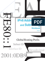 IPv6 Addressing and Subnetting Workbook - Student Version