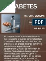 DIABETES Secundaria