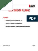 Aleaciones - Aluminio