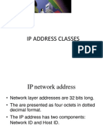 Ip Address Classes - Copy
