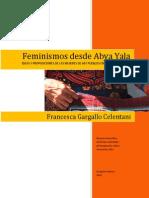 Francesca Gargallo Feminismos Desde Abya Yala Ene20141