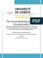The Swiss Banking secrecy