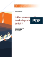 WDR14 Bp is There a Community-Level Adaptation Deficit Ashwill