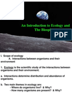 Lecture 18 - Ecology
