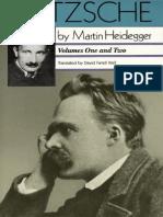 Heidegger, Martin - Nietzsche, Vols. I & II (HarperOne, 1991)